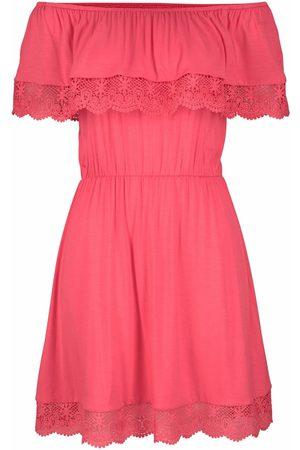 Lascana Vestido Holly vestido de playa coral para mujer