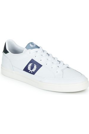 Fred Perry Zapatillas B8198 LEATHER / WHITE / NAVY para hombre
