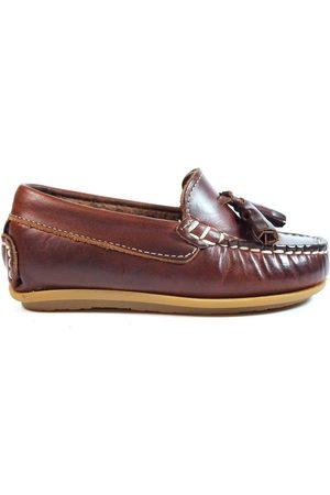 La Valenciana Mocasines Zapatos Niños 1014 Cuero para niño