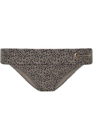Beachlife Bañador Medias de traje baño Cheetah para mujer