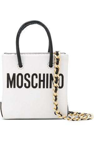 Moschino Bandolera mini con logo estampado