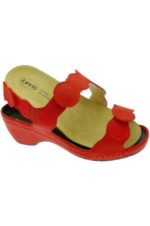 Calzaturificio Loren Mujer Sandalias - Sandalias LOE687ro para mujer