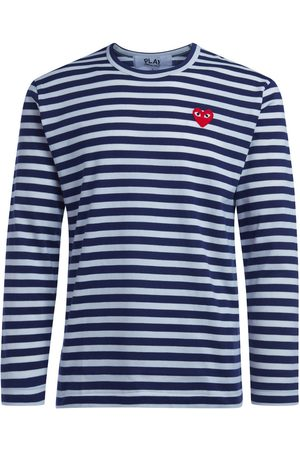 Comme des Garçons Camiseta manga larga Camiseta de hombre de rayas para hombre