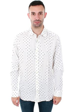 Jack & Jones Camisa manga larga 12153920 JPRSIDE SHIRT LS WHITE REG FIT para hombre