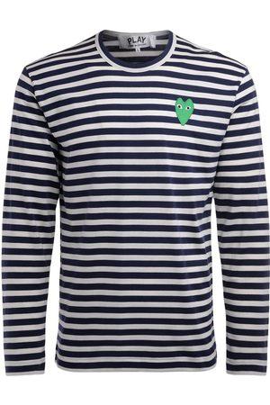 Comme des Garçons Camiseta manga larga Camiseta manga larga con líneas para hombre