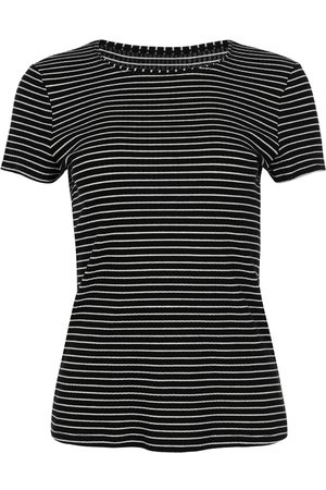 Lisca Camiseta Romance Camiseta de manga corta en la mejilla para mujer