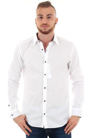 Jack & Jones Camisa manga larga 12151587 JPRSANTIAGO FORMAL SHIRT L/S WHITE SLIM FIT para hombre