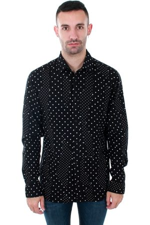 Jack & Jones Camisa manga larga 12153920 JPRSIDE SHIRT LS BLACK REG FIT para hombre