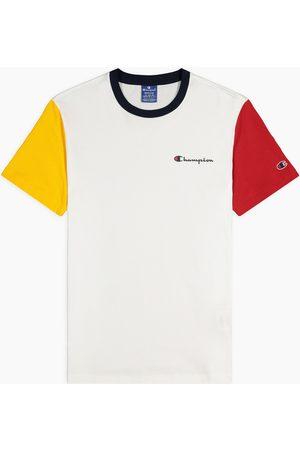 Champion Camiseta Camiseta de manga corta en color block en contraste para hombre