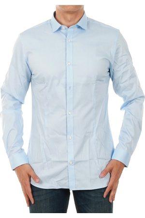 Jack & Jones Camisa manga larga 12097662 JJPRPARMA SHIRT L/S NOOS CASHMERE BLUE/SUPER SLIM para hombre