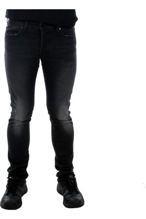 Jack & Jones Pantalón pitillo 12152478 JJIGLENN JJICON CR 133 IK BLACK DENIM para hombre