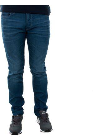 Jack & Jones Pantalón pitillo 12143850 JJITIM JJORIGINAL JJ 320 NOOS BLUE DENIM para hombre
