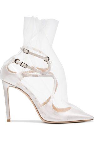 OFF-WHITE Zapatos de tacón Claire 100 de x Jimmy Choo