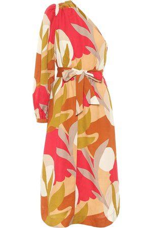 Rebecca Vallance Mujer Mini y ajustados - Vestido midi Sangria estampado