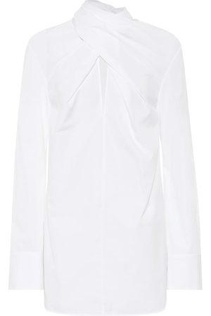 Jil Sander Mujer Manga larga - Camisa de popelín de algodón