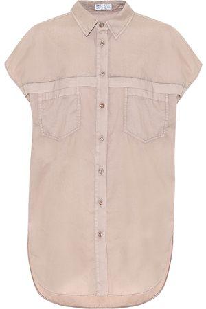 Brunello Cucinelli Exclusivo en Mytheresa – camisa de algodón