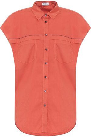 Brunello Cucinelli Exclusivo en Mytheresa - camisa de algodón