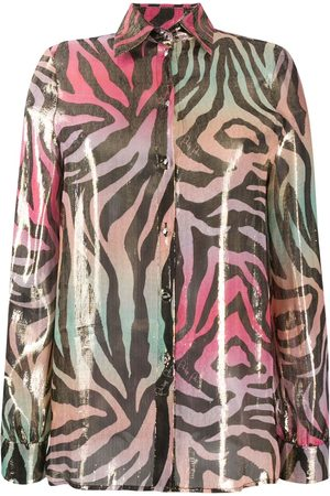Philipp Plein Camisa con animal print