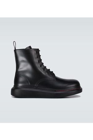 Alexander McQueen Hombre Botas con cordones - Botas Hybrid acordonadas