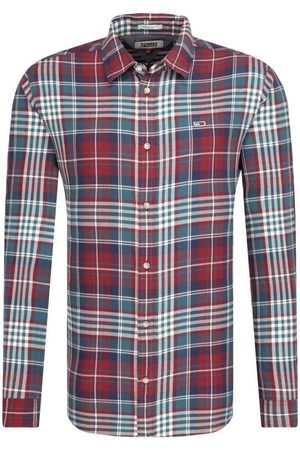 Tommy Hilfiger Camisa manga larga DM0DM069390P5 BURGUN para hombre