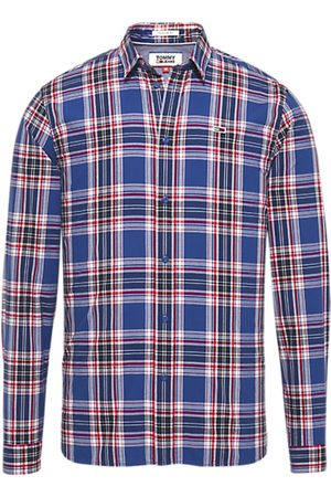 Tommy Hilfiger Hombre Manga larga - Camisa manga larga DM0DM05998 para hombre