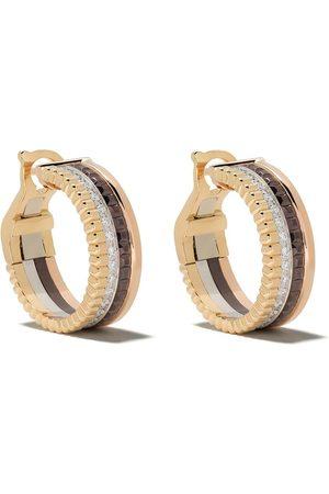 Boucheron Aros Quatre Classic en oro amarillo blanco y rosa de 18kt con diamante