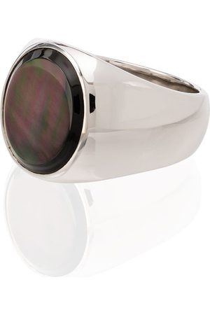 TOM WOOD Anillo con madreperla y plata de ley