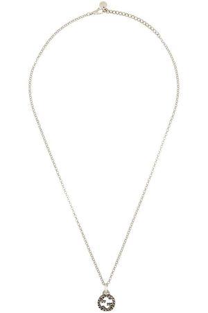 Gucci Mujer Collares - Collar en plata de ley con logo GG