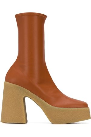 Stella McCartney Botines con plataforma de 120mm