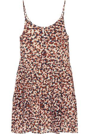 Velvet Vestido corto Zahara de algodón