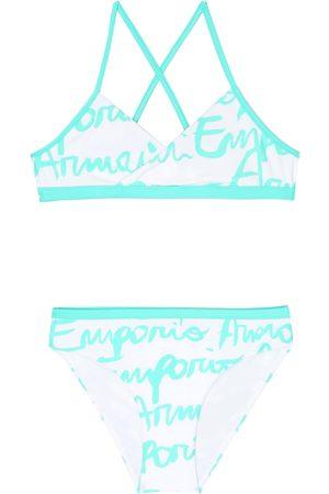 Emporio Armani Bikini con logo estampado
