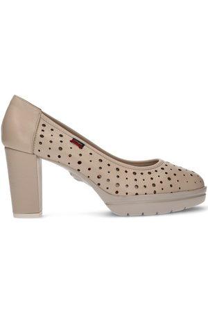 CallagHan Zapatos de tacón S DE TACÓN NATURAL ROSE para mujer