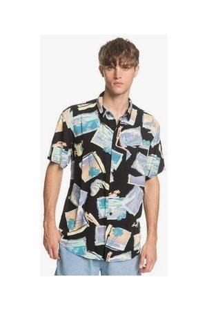 Quiksilver Hombre Manga corta - Camisa manga corta Camiseta Vacancy para hombre