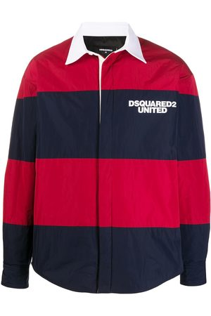 Dsquared2 Striped lightweight jacket