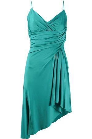 ALEXANDRE VAUTHIER Vestido drapeado asimétrico