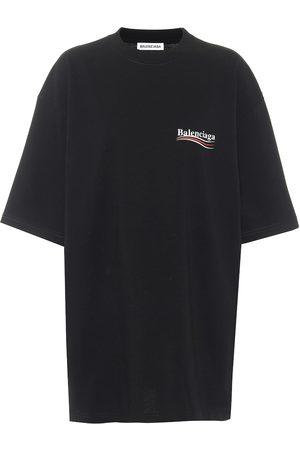 Balenciaga Camiseta de algodón oversized