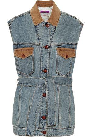 Serafini Chaleco de jeans