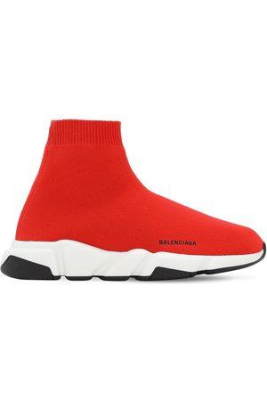 Balenciaga | Niña Speed Knit Slip-on Sneakers 25