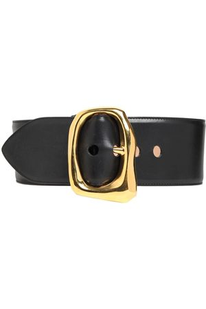 Alexander McQueen | Mujer Cinturón De Piel 85mm 75
