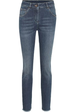 Brunello Cucinelli Jeans skinny de tiro medio