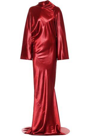 Rick Owens Vestido de fiesta de satén