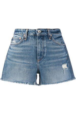 RAG&BONE Pantalones vaqueros cortos de talle medio