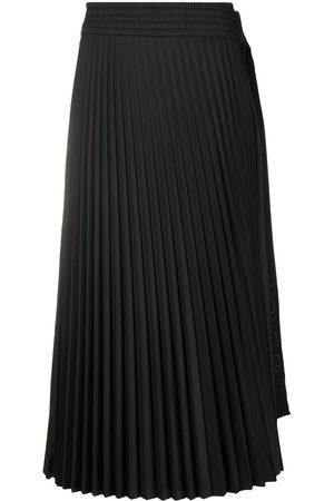 Moncler Falda plisada con lazo lateral