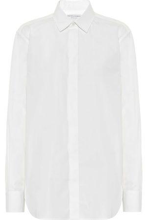 Bottega Veneta Camisa de popelín de algodón