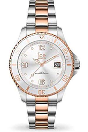 Ice-Watch ICE steel Silver rose-gold - Reloj plateado para Mujer con Correa de metal