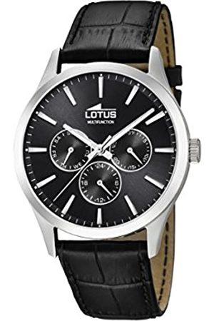 Lotus 18576/8 - Reloj Multiesfera para Hombre de Cuarzo con Correa en Cuero
