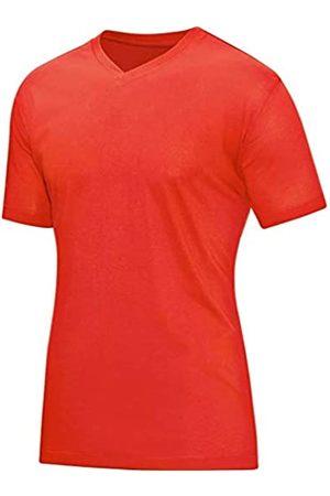 Jako T-Shirt V-Neck Camiseta con Cuello de Pico