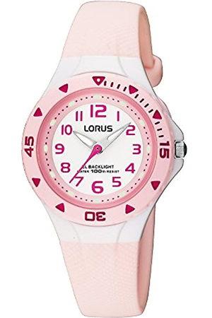 Lorus RRX49CX9 - Reloj analógico infantil de cuarzo con correa de plástico (luz) - sumergible a 100 metros