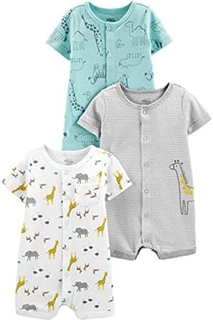 Simple Joys by Carter's Mono Infant-and-Toddler-Bodysuit-Footies 24 Months