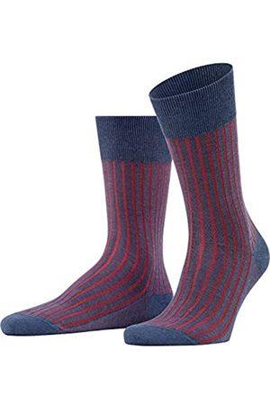 Falke Herren Socken Shadow, Mehrfarbig (Demin Mel. 6665)